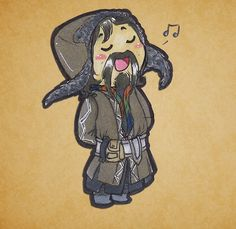 "everykissbeginswithcas: ""Bofur is so cute oh god. I hope I got his design right. :>"""