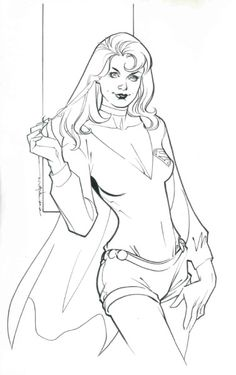 Supergirl by Brian Stelfreeze