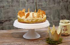 Spekulatius Apfel Torte – genial leckere Plätzchenverwertung