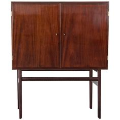 Mahogany Cabinet, Designed by Ole Wanscher, Produced by P. Jeppesen