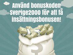 Kom ihåg bonuskoden Sverige2000 ! http://www.kasino.se/thrills/