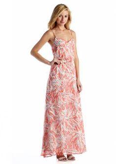 Jack by BB Dakota  Sleeveless Abstract Blossom Maxi Dress