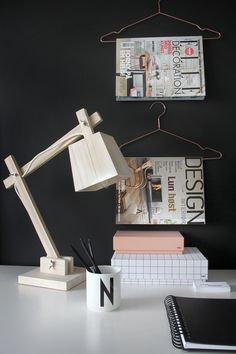 Nordic Days is a website with Scandinavian interiors where you learn everything about Scandinavian design and the latest home interior trends. Workspace Inspiration, Room Inspiration, Interior Inspiration, Office Deco, Nordic Home, Wood Lamps, Scandinavian Interior, Scandinavian House, Interiores Design