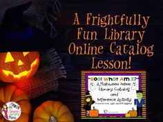 This is a fun library Halloween activity aligned to Common Core, AASL 21st Century Learning and ISTE/NETS Technology Standards. Included are two pages that you can copy back to back. There are 10 Halloween riddles/clues. Students must use their inference skills to determine what the answer is. After they write the answer down, they use the online library catalog to perform a keyword or title search. They then write down the title and call number of a book they found. $