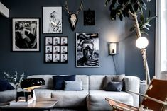 Fantastic Living Room Wall Decor Ideas To Copy Living Room Colors, Living Room Grey, Home Living, Living Room Designs, Living Room Decor, Modern Living, Living Rooms, Living Room Scandinavian, Room Wanted