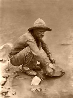 #gold prospecting  #49ers  #gold panning (There is a website giving away free gold or silver in one of the ads at www.goldshopper.org)