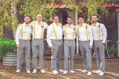 Yellow Rustic Wedding