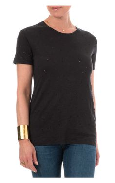 Topp Clay T-Shirt BLACK - IRO - Designers - Raglady