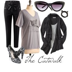 The Catwalk #vegan #fashion #cat #kitty