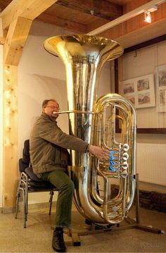 Now that's one BIG tuba!