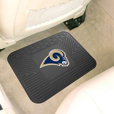 """Officially Licensed NFL Team Logo 14"""" x 17"""" Mat by Sports Licensing Solutions - Cowboys - Rams"""