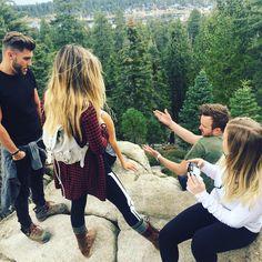 "9.11.2015 Arielle Vandenberg on Instagram: ""The gorgeousness."""