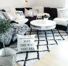 Love this style living room.