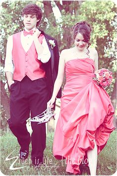 love the dress and the bow tie and vest idea!!!