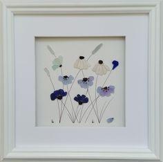 Sea Glass Flowers https://www.etsy.com/shop/CornishPebbleArt