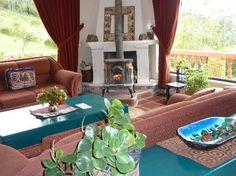 Warm and cozy at the Hotel Ali Shungu in Equador.