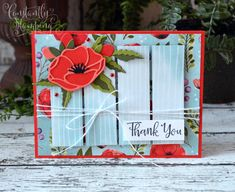 I love the sketch challenge at Global Design Project this week. I decided to let the Peaceful Poppies Suite do most of the heavy-lifting on this card. Mini Sales, Owl Punch, Paper Crafts, Diy Crafts, Global Design, Fun Challenges, Flower Cards, Stampin Up Cards, Thank You Cards
