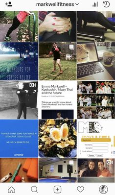 The Markwell Fitness top 10 fit and healthy Instagrammers