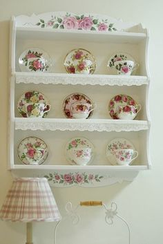 Shabby Chic Interior Design Ideas For Your Home Decor, Shabby Chic, Chic Kitchen, Shabby, Chic Decor, Home Decor, Tea Cup Display, Shabby Chic Furniture, Shabby Chic Room