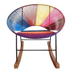 Me Gusto Este Producto Mica Silla Mecedora Bora Multicolor Lo Quiero Lounge