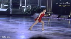 """Yuna Kim - Nessun Dorma (by Giacomo Puccini Opera Turandot) @ All That S.. On the white cards from intro, it reads: """"There is something I really want to tell you guys. Looking back, whenever I had hard times, it wasn't scores or medal that encouraged and gave me strength to stand up and skate again. It was....you! Thank you for supporting me always. I was so happy to be with you guys. And I love you."""" Credit: Golden Yuna"""