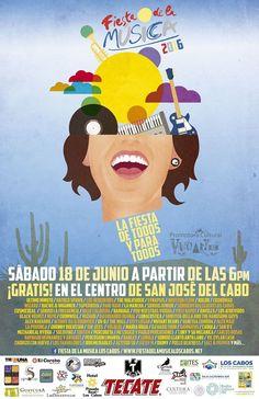 Fiesta de la Musica 2016, 18-jun, Plaza Mijares, San Jose del Cabo