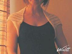 """Ravelry: White Summer Shrug pattern by Wioletta """"Wiolett"""""""