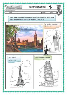 "Title: Actividades ""La vuelta al mundo en 80 días"", Author: vj ssv, Length: 18 pages, Published: Around The World In 80 Days, Around The Worlds, Primary Education, Country Crafts, Social Science, Colouring Pages, Egypt, Activities, Reading"