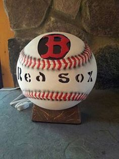Boston Red Sox ligh up by ThisIMadeForYou on Etsy, $29.95
