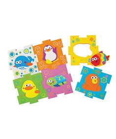 Take a look at this B Kids Animal Link & Learn Puzzle Mat Set on zulily today!