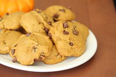 Pillowy Soft Pumpkin chocolate chip cookies | Kirbie's Cravings | A San Diego food blog  -- True story.  These cookies are amazing.