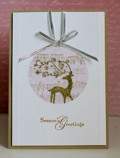 TCIF Stampin Up Bauble Christmas Card