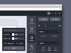 Flat UI Sidebar Concept