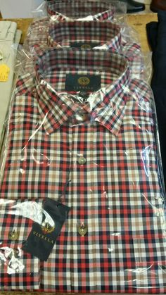 More lovely shirts from Viyella - new styles for gents now in store.