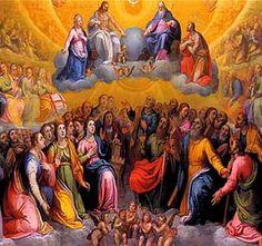 La Iglesia, cada 1 de noviembre, nos invita a mirar al cielo, nuestra futura patria, para ver allí con San Juan, a esa turba magna, a esa muchedumbre incontable de Santos.