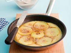Rezept: Apfel-Pfannkuchen mit Zimt-Zucker