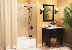 Banbury Mediterranean bronze two-handle high arc bathroom faucet - CA84913BRB