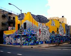 Graffiti by HOW and NOSM