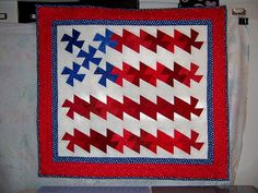 American Flag Twister Quilt final