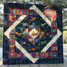 log cabin quilt | Log Cabin Quilts