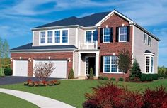 Everything's Included by Lennar, the leading homebuilder of new homes for sale in the nation's most desirable real estate markets. Ryland Homes, New Homes For Sale, Real Estate Marketing, My Dream, Building A House, Chicago, Mansions, House Styles, Dream Homes