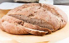 honey teff bread // gluten free + vegan