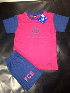 Pijama niño verano FCBarcelona