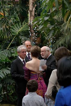 Get married among friends and butterflies at the Butterfly Gardens. #Wedding #GetMarried #VictoriaBC | www.tourismvictoria.com