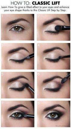 Müde Augenlid Make-up - Make-up Ideen - lose Augenlid Make-up . - Schlaffes Augenlid-Make-up – Make-up-Ideen – Lockeres Augenlid-Make-up - Eye Makeup Blue, Eye Makeup Steps, Smokey Eye Makeup, Pink Makeup, Beauty Makeup, Hair Makeup, Makeup Set, Brown Makeup, Smoky Eye