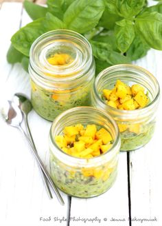 Tartare de courgette jaune et son riz vert au fromage frais