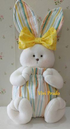1 million+ Stunning Free Images to Use Anywhere Sewing Toys, Sewing Crafts, Sewing Projects, Craft Projects, Felt Crafts, Easter Crafts, Diy And Crafts, Soft Toys Making, Rabbit Crafts