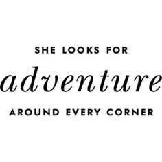 A well-traveled woman...