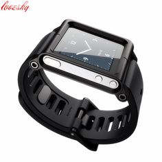 Aluminum Silicone Mix Case Multi-Touch Watch Band For iPod Nano 6/6th #shoes, #jewelry, #women, #men, #hats