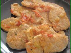 Escalopes de porc à la portugaise (comme des bifanas), Recette Ptitchef